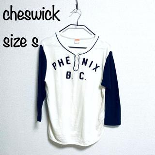 トウヨウエンタープライズ(東洋エンタープライズ)のサイズS チェスウィックcheswick ベースボールシャツ ヘンリーネック(Tシャツ/カットソー(七分/長袖))