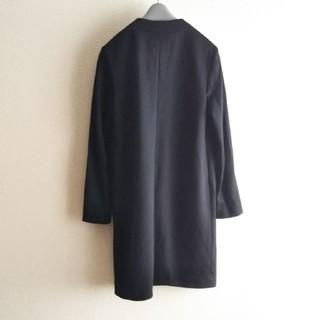 アンタイトル(UNTITLED)のUNTITLED 黒コートジャケット 春秋(ノーカラージャケット)