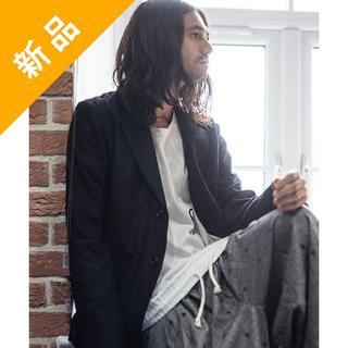 グラム(glamb)の定価3.9万・新品★glamb 星柄刺繍ウール素材テーラードジャケット ブラック(テーラードジャケット)