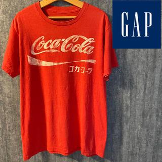ギャップ(GAP)のレア Gap コラボ コカコーラ 半袖Tシャツ ビンテージ古着 (Tシャツ/カットソー(半袖/袖なし))