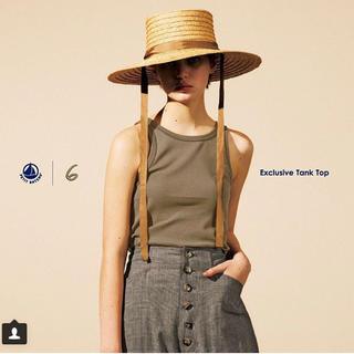 ビューティアンドユースユナイテッドアローズ(BEAUTY&YOUTH UNITED ARROWS)のLa Maison de Lyllis ラメゾンドリリス HAT(麦わら帽子/ストローハット)