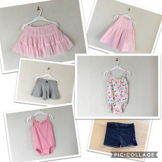 エイチアンドエム(H&M)の美品の子供服☆まとめ売り(タンクトップ/キャミソール)