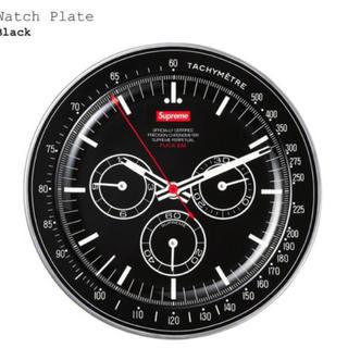 シュプリーム(Supreme)のSUPREME Watch Plate プレート black 時計 ウォッチ 皿(食器)