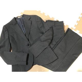 アオキ(AOKI)のAOKI LES MUES パンツスーツ レディース シャツセット 7号(スーツ)