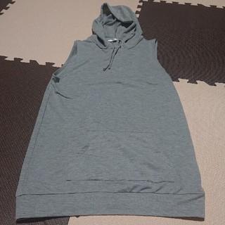 アクアネーム(AquaName)のAQUANAME ノースリーブパーカー(カットソー(半袖/袖なし))