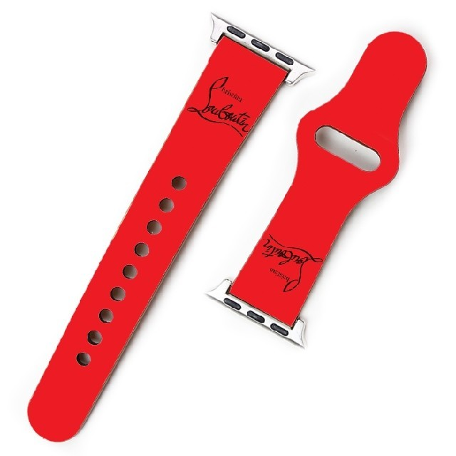 Christian Louboutin(クリスチャンルブタン)のApple Watch バンド ベルト クリスチャンルブタン v3n9u メンズの時計(レザーベルト)の商品写真