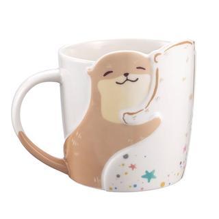 スターバックスコーヒー(Starbucks Coffee)のスターバックス :かわうそ マグ ロゴ スタバ 台湾 限定商品(グラス/カップ)
