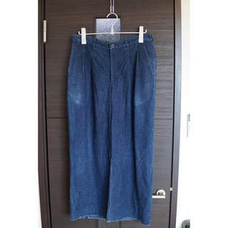 ヨウジヤマモト(Yohji Yamamoto)のka na ta 10years pants 麻世紗 hemp indigo 2(デニム/ジーンズ)