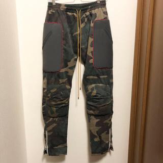 FEAR OF GOD - RHUDE moto pants camo