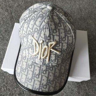 ディオール(Dior)のDIOR コットンキャンバス ベースボールキャップ(キャップ)