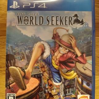 プレイステーション4(PlayStation4)のONE PIECE WORLD SEEKER PS4 中古(家庭用ゲームソフト)