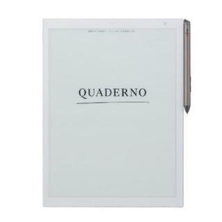 フジツウ(富士通)の【新品未使用】電子ペーパー QUADERNO(クアデルノ)A4サイズ(タブレット)