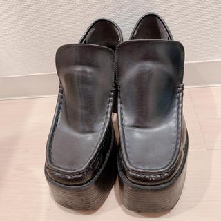 エモダ(EMODA)のEMODA チャンキーヒールローファー(ローファー/革靴)