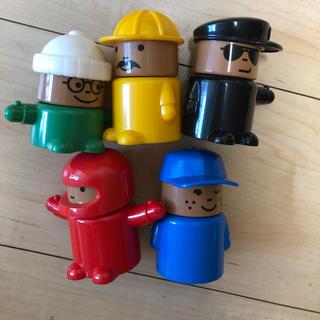 イケア(IKEA)の人形五体セット(IKEA)(ぬいぐるみ/人形)