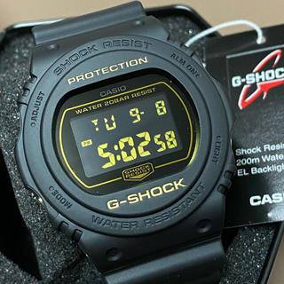 ジーショック(G-SHOCK)の新品 送料無料 マットブラック G-SHOCK DW-5700BBM-1(腕時計(デジタル))