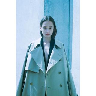 アンユーズド(UNUSED)のstein / 19aw/Lay Oversized Overlap Coat(トレンチコート)