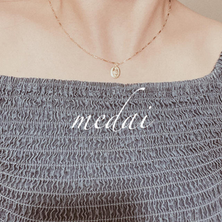 エイミーイストワール(eimy istoire)の14kgf maria メダイ design chain necklace (ネックレス)