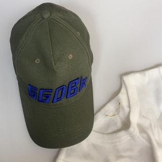 ドゥーズィエムクラス(DEUXIEME CLASSE)のGOLDEN GOOSE ◆ GGDB CAP カーキ(キャップ)