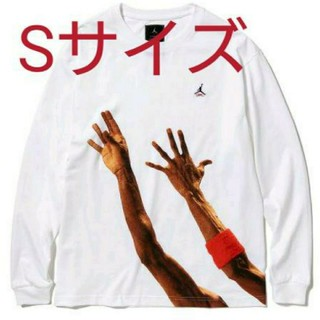 ナイキ(NIKE)のUNION JORDAN THE J L/S T-SHIRT Tシャツ Sサイズ(Tシャツ/カットソー(七分/長袖))