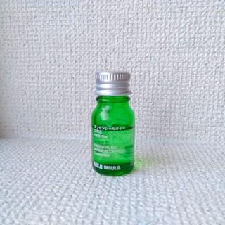 ムジルシリョウヒン(MUJI (無印良品))のひのき アロマオイル(エッセンシャルオイル(精油))