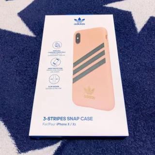 アディダス(adidas)の«早い者勝ち»iPhoneX iPhoneXs iPhoneケース adidas(iPhoneケース)