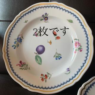 リチャードジノリ(Richard Ginori)のリチャードジノリ イタリアンフルーツ 21cmプレート 2枚 中古(食器)