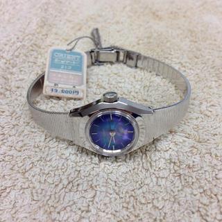 オリエント(ORIENT)のオリエント70's手巻きレディース腕時計(腕時計)