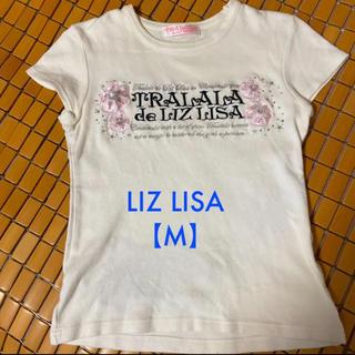 リズリサ(LIZ LISA)のリズ リサ 【M】トップス(カットソー(半袖/袖なし))