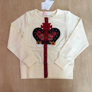 シャーリーテンプル(Shirley Temple)のシャーリーテンプル☆王冠カーディガン☆120(カーディガン)