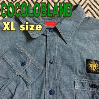 ココロブランド(COCOLOBLAND)のデニムシャツ メンズ ココロブランド X Lサイズ(シャツ)