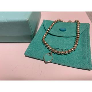 ティファニー(Tiffany & Co.)のティファニー ハート ビーズ リターントゥ  B3(ブレスレット/バングル)