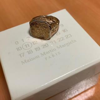 マルタンマルジェラ(Maison Martin Margiela)のmaison martin margiela シグネットリング(リング(指輪))
