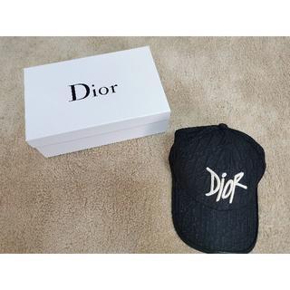 ディオール(Dior)のDIOR AND SHAWN ロゴ キャップ カジュアルコーデに(キャップ)