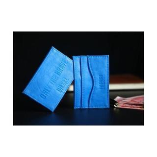 ディーゼル(DIESEL)の【新品】ディーゼル ONLY THE BRAVE カードケース ノベルティ(名刺入れ/定期入れ)