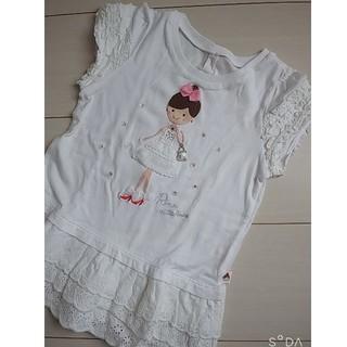 ミキハウス(mikihouse)の☆ミキハウス リーナちゃん 110 美品☆(Tシャツ/カットソー)