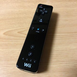 Wii - 任天堂Wiiリモコン 黒