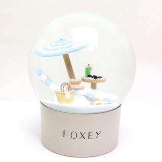 フォクシー(FOXEY)の未使用 フォクシー スノードーム FOXEY ノベルティ(置物)