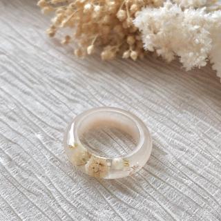 flower color ring*(beige)(リング)