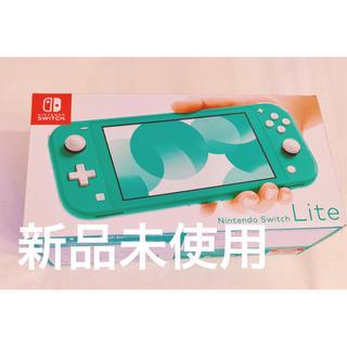 ニンテンドースイッチ(Nintendo Switch)のNintendo Switch  Lite ターコイズ スイッチ 新品 未使用(家庭用ゲーム機本体)
