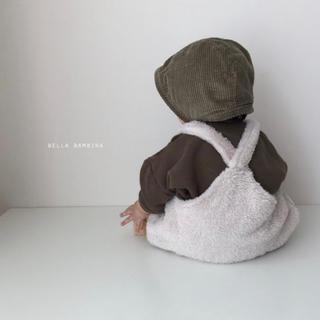 フタフタ(futafuta)の韓国子供服 bella b モコモコ ロンパース(ロンパース)