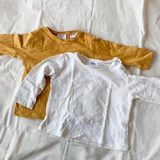ザラキッズ(ZARA KIDS)のzara kids ロングTシャツ 2枚組(Tシャツ)