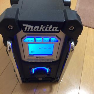 マキタ(Makita)の中古 マキタ 充電式ラジオ MR108 黒 (ラジオ)