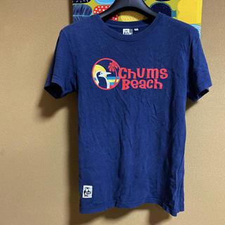 チャムス(CHUMS)のチャムス Tシャツ ネイビー  M(Tシャツ(半袖/袖なし))
