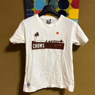 チャムス(CHUMS)のチャムス 白Tシャツ(Tシャツ(半袖/袖なし))