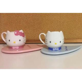 サンリオ(サンリオ)の♡キティ&ダニエル♡ エスプレッソカップ&ソーサー(グラス/カップ)