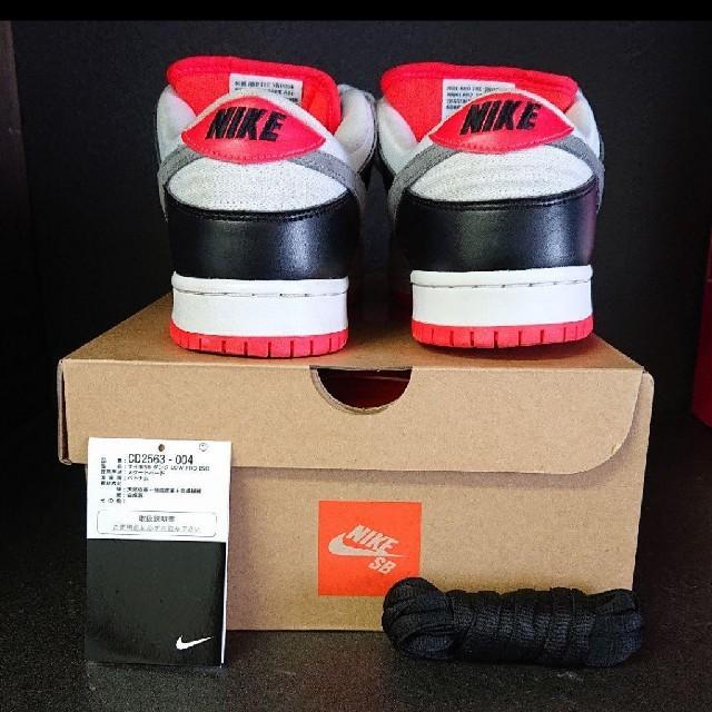 NIKE(ナイキ)のNIKE DUNK SB インフラレッド メンズの靴/シューズ(スニーカー)の商品写真
