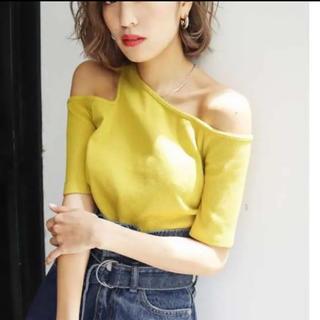 エモダ(EMODA)のEMODA  ワンショルダーTシャツ(Tシャツ(半袖/袖なし))