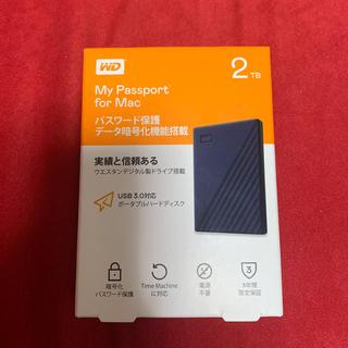 アイオーデータ(IODATA)の【新品未開封】HDD 2TB Mac 用(PC周辺機器)