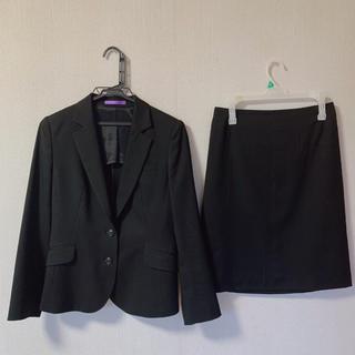 アオキ(AOKI)の アオキAOKI  ストレッチ セットアップスーツ ジャケット×スカート(スーツ)