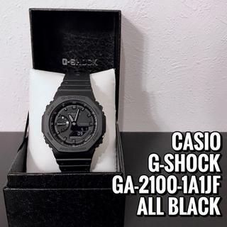 ジーショック(G-SHOCK)の【新品】G-SHOCK GA-2100-1A1JF 国内正規品 プライスタグ付属(腕時計(アナログ))
